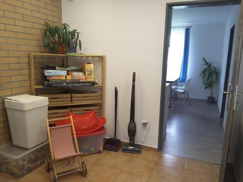 Vstupní prostor a předsíň - bezbariérový vstup do apartmánu