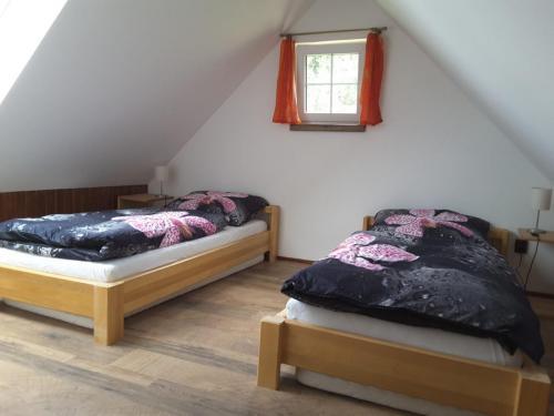 Zadní oddělený pokojík